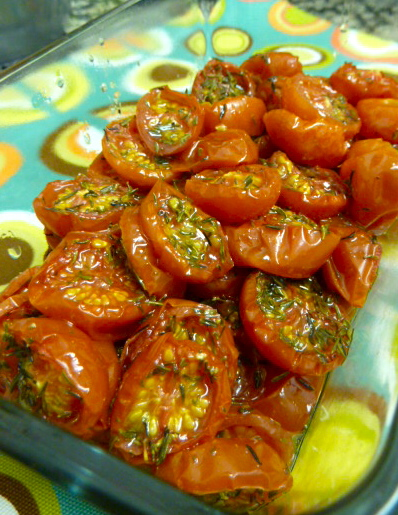 images of Slow Rosted Tomatos Nigella Style Appetizer Salad Vegetable